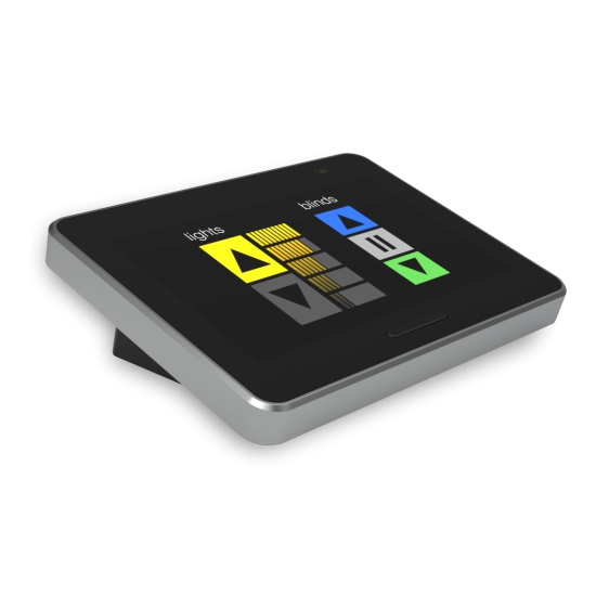 Delmatic touchpad lighting control device